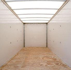 Inside the storage pod